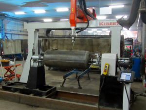 KBWELD HD5 - 5 Axis robotic system for welding of tanks and boilers