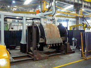 KBWELD HD5 - 5 Axis robotic system for welding of excavator buckets