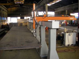 KBWELD HD5 - 5 Axis robotic system for welding of semi-trailers
