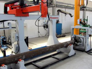 5-Axis robotic system for pipe welding