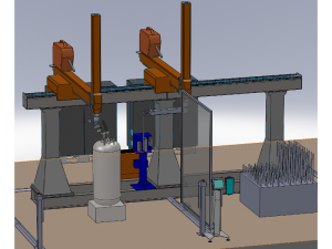 Robotic system for automated welding of boilers