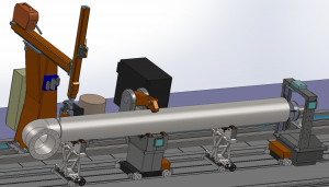Robotic system for pipe elbow welding