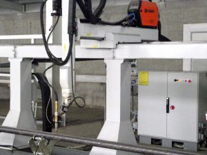 KBRCUT HD5 - 5 Axes robotic system for plasma pipe cutting