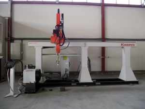 KBRCUT HD5 - 5 Axis robotic system for 3D cutting